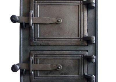 drzwiczki kuchenne żeliwne nr2