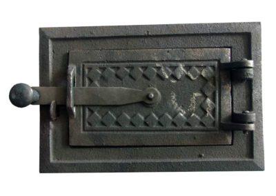 drzwiczki kuchenne żeliwne nr2 - dół