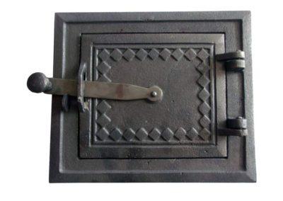 drzwiczki kuchenne żeliwne nr2 - góra