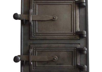 drzwiczki kuchenne żeliwne nr3
