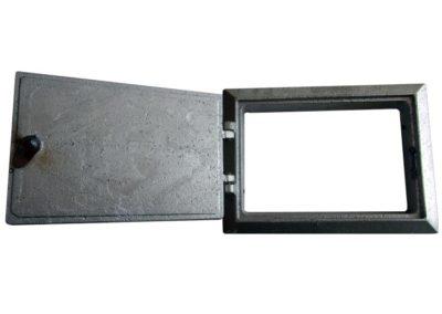 drzwiczki wyciorowe aluminiowe